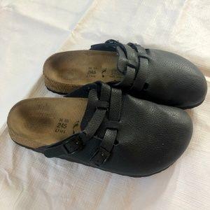 Navy Birki's Slip-on clogs size 38.5 and size 8
